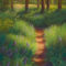 Pastel painting by Francesca Droll