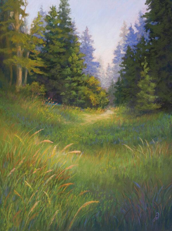Original pastel painting by Francesca Droll