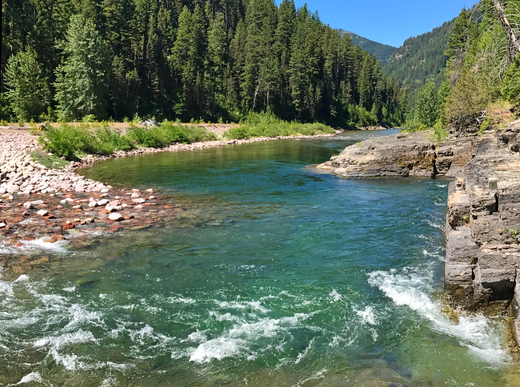 Photo of Flathead River