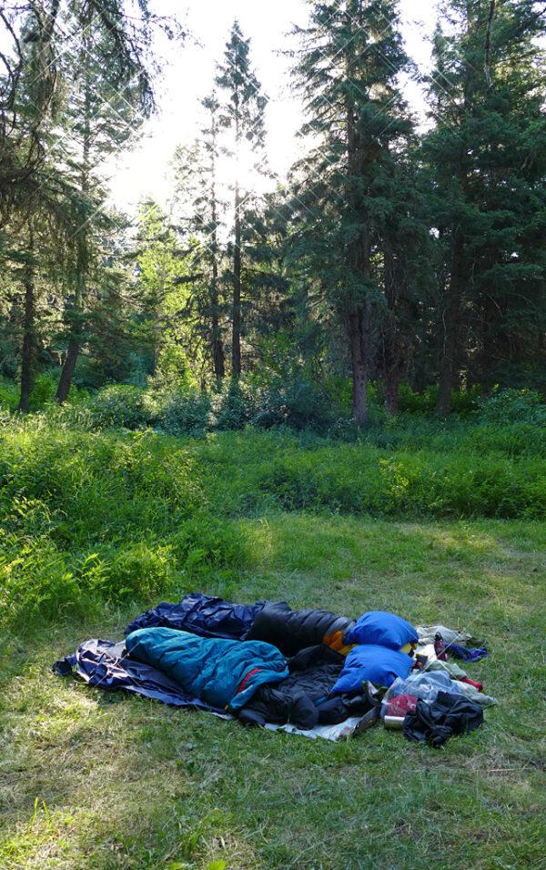 Photo of sleeping bags