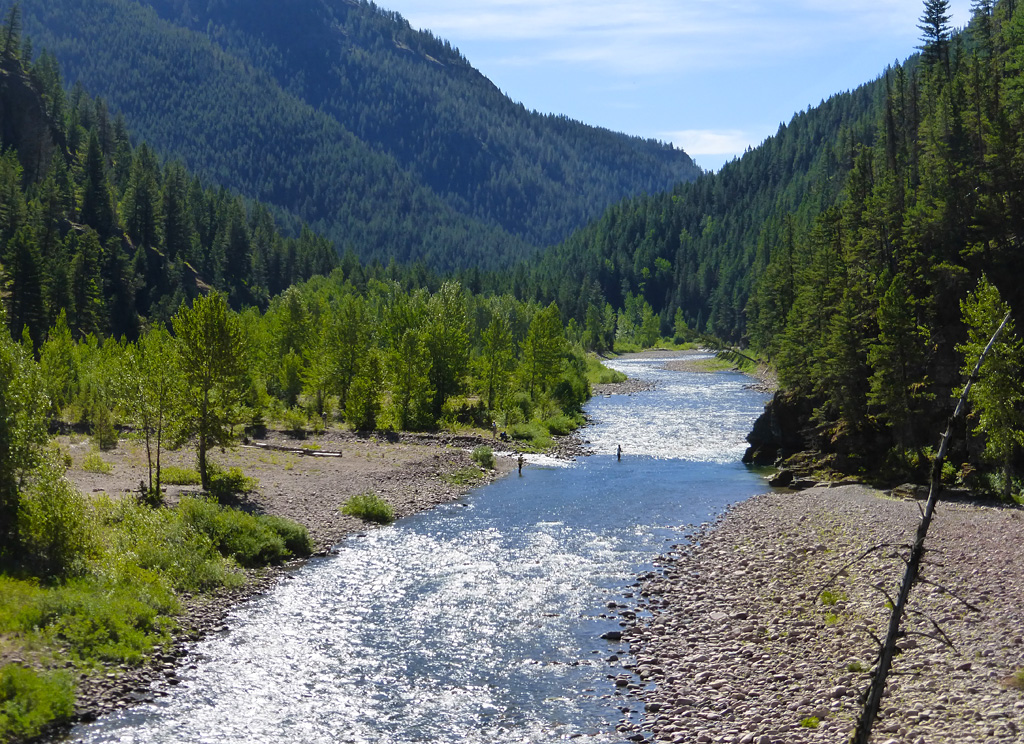 Photo of the Flathead River