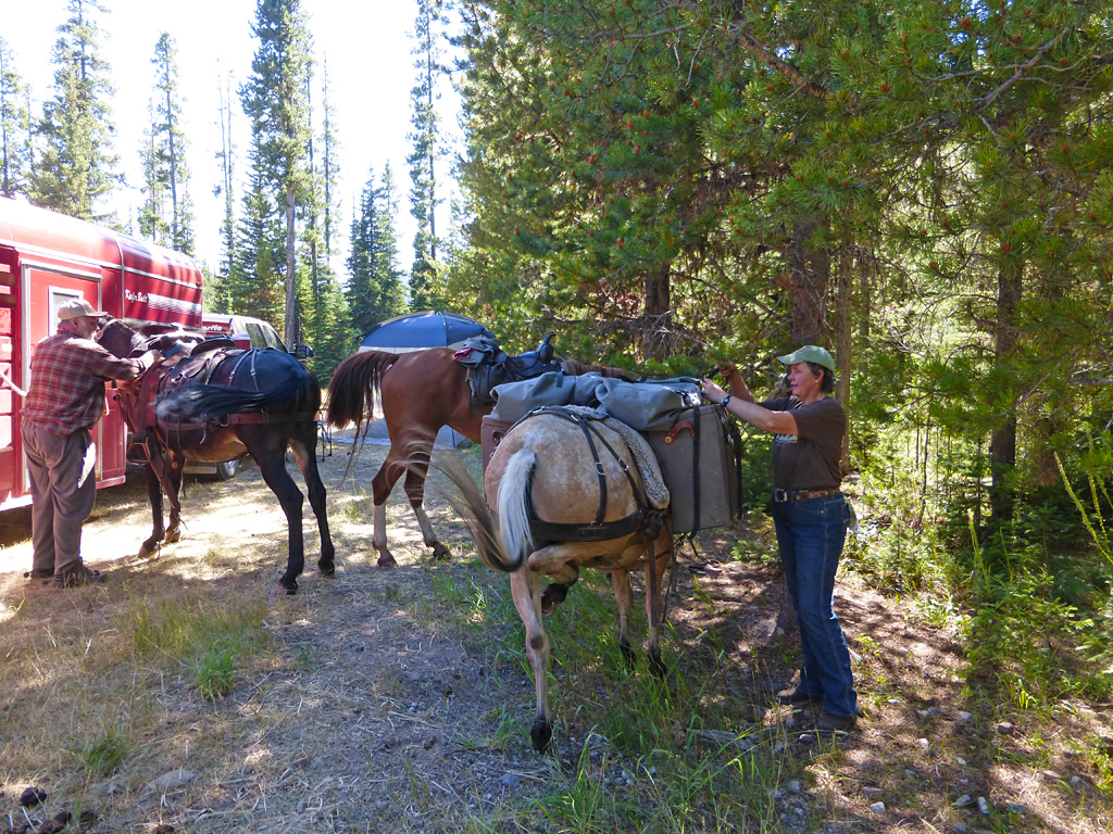 Photo of horse packers