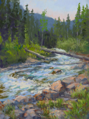 Francesca Droll pastel painting