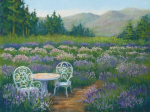 Fracesca Droll pastel painting