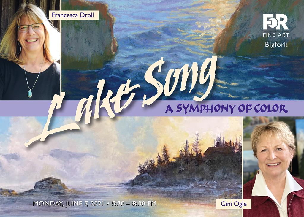 Photo of Lake Song postcard