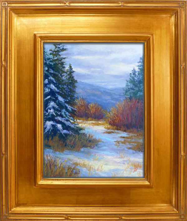 Photo of a pastel painting by Francesca Droll
